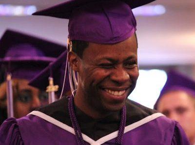 ACE grad Sylvester wink